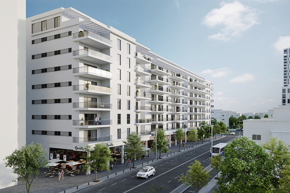 """פרויקט Next TLV בשדרות לה גוארדיה. יהפוך את האזור """"לצפון הבא של תל אביב"""""""