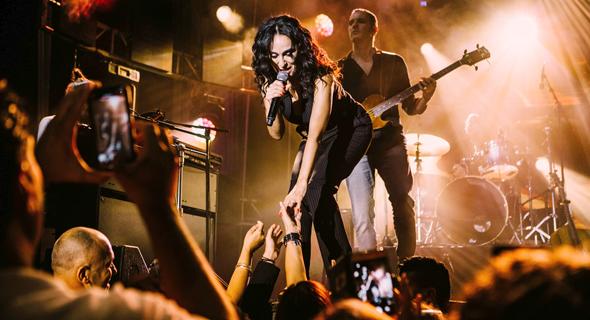 """ריטה בהופעה. תבצע את האלבום """"ימי התום"""" במלואו בהופעה, צילום: אורית פניני"""