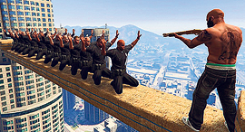 """GTA 5"". עינוי השבוי דווקא מונע מהשחקן להוציא ממנו מידע"