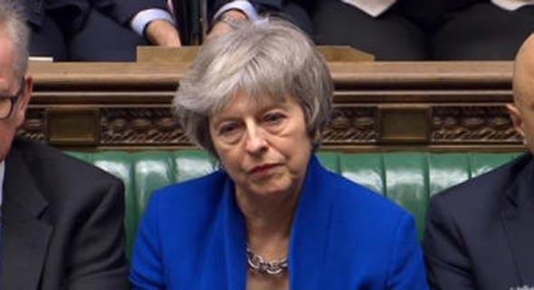 ראש ממשלת בריטניה תרזה מיי (ארכיון)