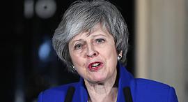 ראשת ממשלת בריטניה תרזה מיי, צילום: אם סי טי