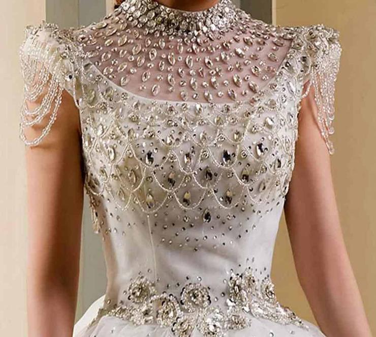 שמלת הכלה היקרה ביותר אי פעם. עלות - 12 מיליון דולר