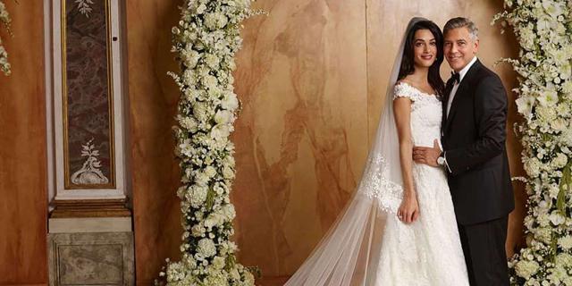 מאמאל קלוני ועד קייט מידלטון: 10 שמלות הכלה היקרות בכל הזמנים