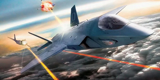 הקברניט לייזר מטוס קרב , צילום: Lockheed Martin