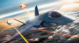 הקברניט לייזר מטוס קרב , צילום: Lockheed Martin