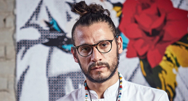 השף  קרלוס סלמון , צילום: אפיק גבאי