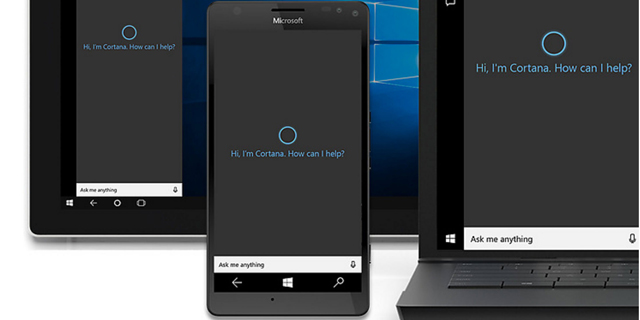 מיקרוסופט קורטנה הפעלה קולית סייענית חכמה, צילום: Microsoft