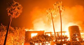 שריפות בקליפורנה ב-2018, צילום: AP