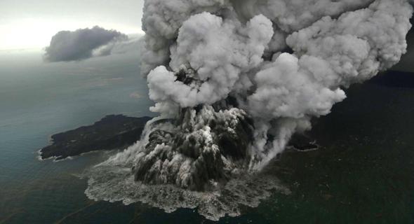 הר געש אנאק קרקטואה באינדונזיה, הצונאמי בדצמבר 2018