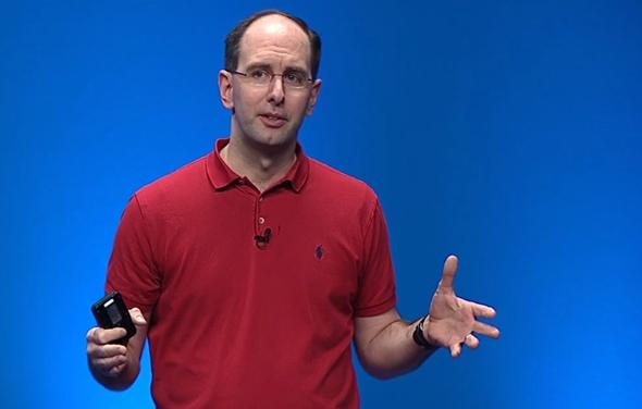 סקוט גאתרי סגן נשיא מיקרוסופט ענן , צילום מסך Microsoft