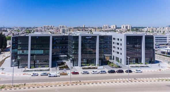 הדמיה של פרויקט טרמינל פארק של ויתניה באור יהודה
