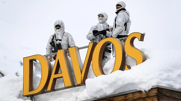 Davos. Photo: Getty Images