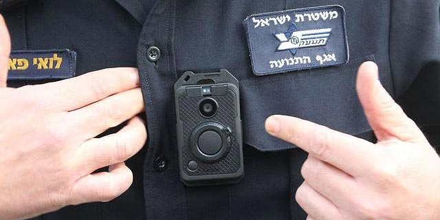 12,000 Israeli Police Officers to be Outfitted With Body Cameras
