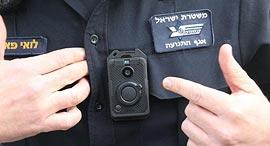 מצלמת הגוף שתוצמד לשוטרים, צילום: מוטי קמחי