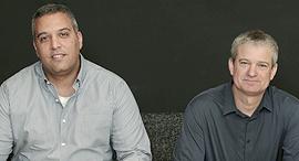 מימין אמיר גיל ו ליאור יוחפז הלמן אלדובי, צילום: צביקה טישלר