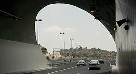 מנהרה ב כביש 6, צילום:  אלעד גרשגורן