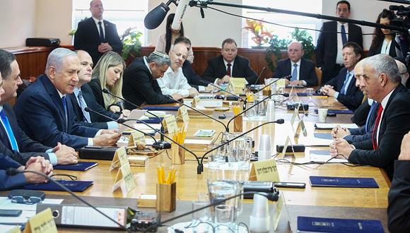ישיבת ממשלת ישראל, צילום: מארק ישראל סלם