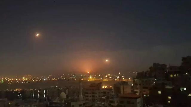 התקיפה בסוריה, הלילה
