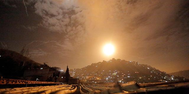 """צה""""ל הפציץ בדמשק: לפחות 4 סורים נהרגו"""