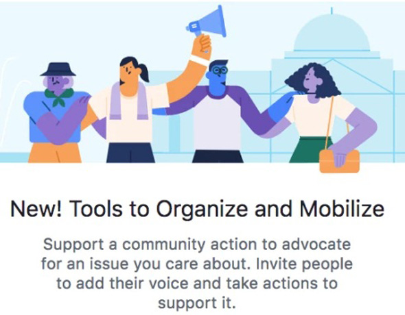 פייסבוק עצומות political actions פיד