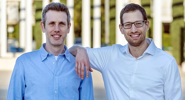 Aviad Mor (left) and Erez Berkner. Photo: Dudu Moskowitz