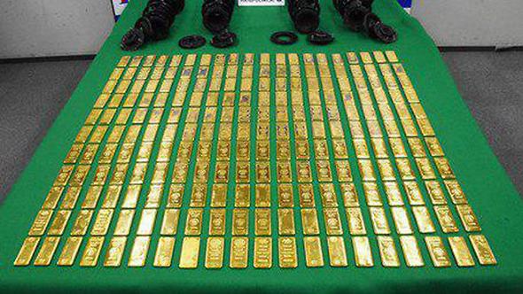 הברחת הזהב ביפן
