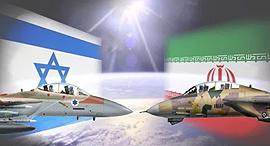 ישראל נגד איראן - באוויר, צילום: Hobbymaster, addustour