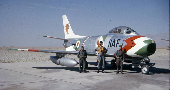 מטוס F86 איראני