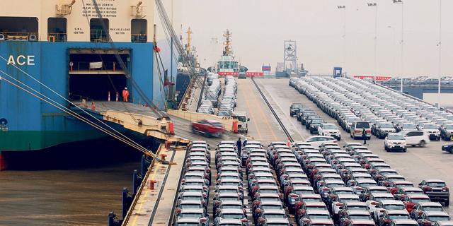 מכירות כלי הרכב בסין צנחו ב־17.7% בינואר