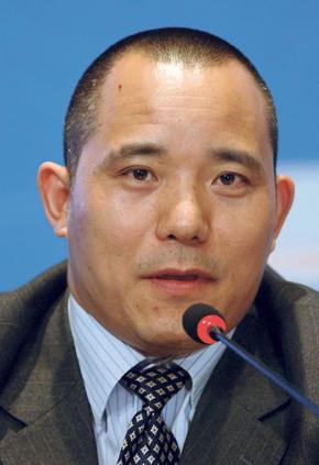 """פרופ' שיאנג סונג ג'ואו. פסק: """"הכלכלה הסינית הולכת לזמנים קשים מאוד, ולזמן ארוך"""", צילום: Seokyong Lee"""