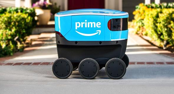 אמזון סקאוט רובוט משלוחים רובוטים, צילום:Amazon