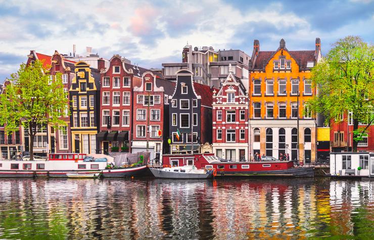 אמסטרדם, הולנד. מקום 10, צילום: שאטרסטוק