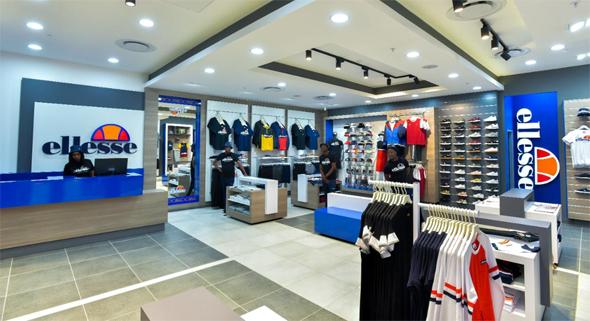 חנות של Ellesse, צילום: יחצ