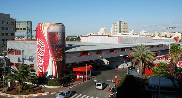 מפעל קוקה קולה בני ברק גבעת שמואל, צילום: עמית שעל