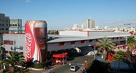 מפעל קוקה-קולה בבני ברק, צילום: עמית שעל