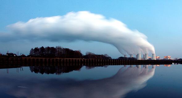 זיהום אוויר תחנת כוח פחם , צילום: רויטרס