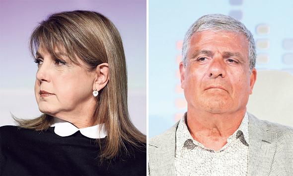 """אבי לוי מנכ""""ל מליסרון ו ליאורה עופר בעלת השליטה בחברה"""