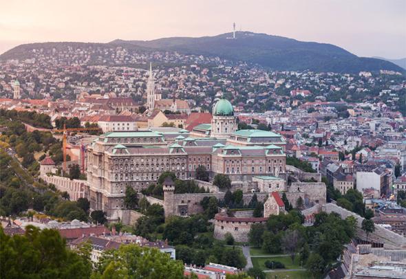 בודפשט. מס החברות בהונגריה נמוך במיוחד