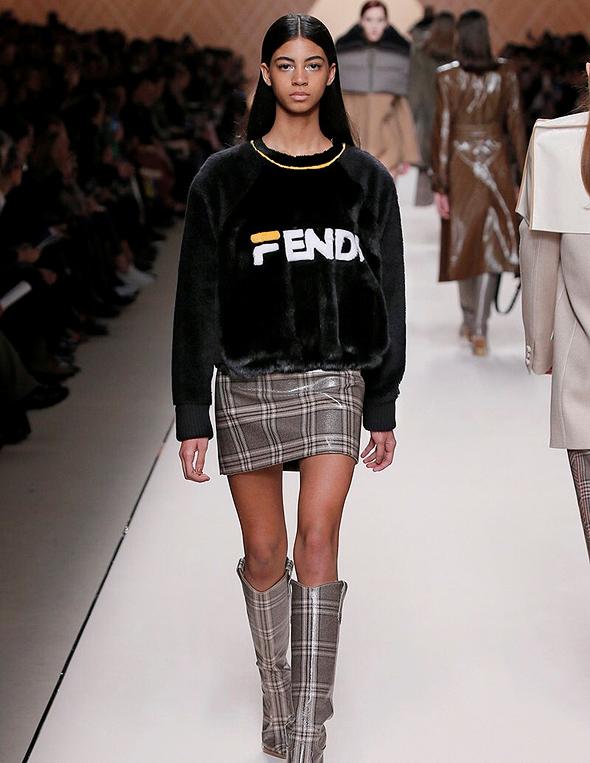 שיתוף הפעולה עם בית האופנה פנדי, מילאנו. הכניס את FILA למועדון היוקרה, צילום: איי פי