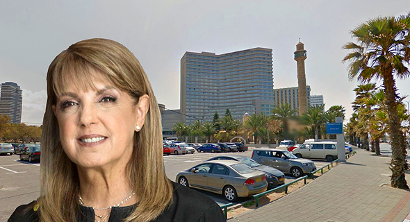 ליאורה עופר חניון הרברט סמואל טיילת תל אביב, צילום: תומי הרפז, google street view