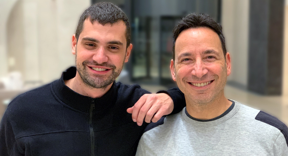 Salt Security founders Michael Nicosia (left) and Roey Eliyahu. Photo: Yasmin Lukatz