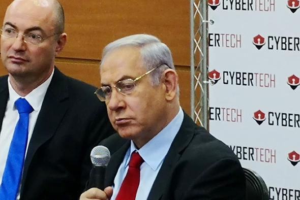 Prime Minister Benjamin Netanyahu at CyberTech. Photo: Raphael Kahan