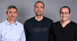Pliops co-founders Aryeh Mergi (left), Moshe Twitto, and Uri Beitler. Photo: Pliops