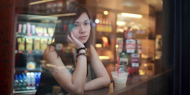 רווקה סינית ממתינה לדייט, צילום: שאטרסטוק