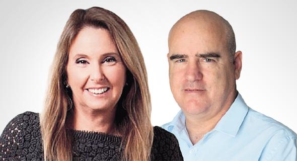 עדיאל שמרון ו שרי אריסון , צילום: עמית שאבי