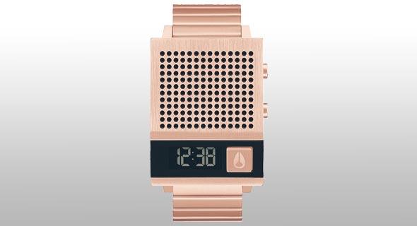 """""""Dork Too"""" השעון המגושם והמדליק של יצרנית השעונים ניקסון"""
