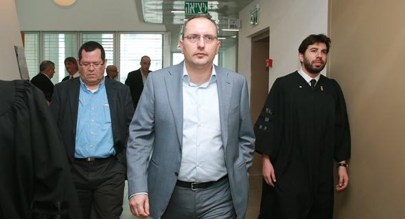 מוטי בן משה ב בית משפט, צילום: אוראל כהן