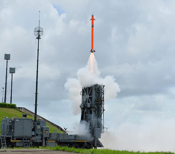 IAI's medium-range surface-to-air missile (MRSAM) systems. Photo: IAI