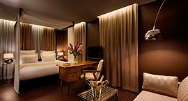 פנאי מלון בראון, צילום: אסף פינצוק