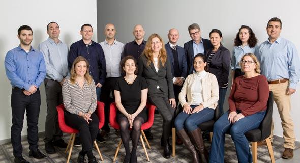 Laminate's team. Photo: Efrat Kuper